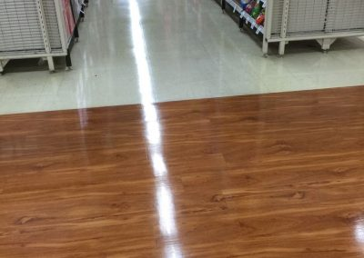 We used our advanced equipment and rich experience to clean the hardwood floor in this grocery supermarket in suburban Adelaide