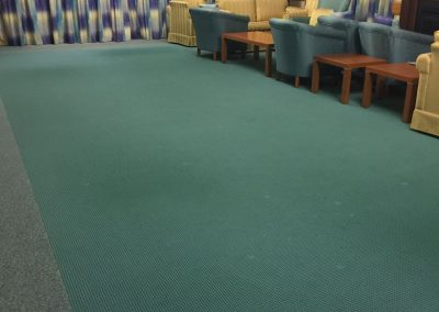This Adelaide client opted for steam cleaning for the carpets in their living room