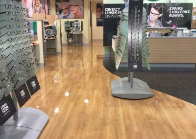This suburban Adelaide outlet of Spec Savers contracted One Shot Cleaning for strip and seal cleaning of their floors