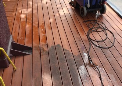 Hardwood or laminate? We can clean it all using our advanced pressure cleaning equipment like for this suburban Adelaide client's home