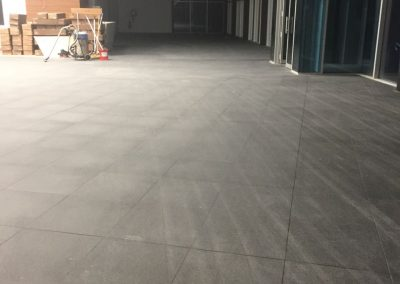Stone floor cleaning for a commercial office building in Adelaide CBD