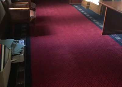 Don't let dirty carpets be an eyesore for your clients, let us clean them using our low pressure carpet cleaning technique